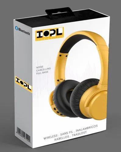 Printed Headphone Packaging Box \'\'Make in INDIA\'\'