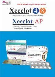Thiocolchicoside 4mg Aceclofenac 100mg