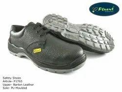 Black Men Fluent Safety Shoes, Model Name/Number: P1703