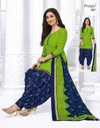 Cotton Casual Wear Designer Dress Materials, Wash Care: Hand Wash