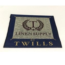 Tafetta Woven Label, For Garments, Packaging Type: Box