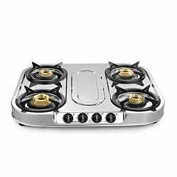 Stainless Steel Sunflame 4 Burner Spectra Gas Stove
