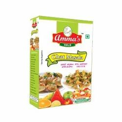 Amma's Gold Chat Masala 100 grm, Packaging Type: Packets