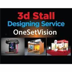 3D Stall Designing Service, Pan India