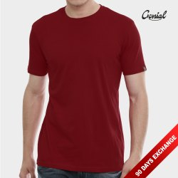 Genial Plain & Printed Men Half Sleeve T- Shirt, Age Group: 18-99