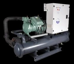 Drycool Three Phase Water Cooled Screw Chiller, Capacity: 30 - 185 Tr