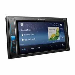 Black Pioneer MVH-A219BT Audio System, For Car Stereo, Screen Size: 15.7 Cm (6.2