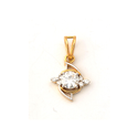 1.30 ctw. Moissanite Diamond Pendant in 18k Yellow Gold