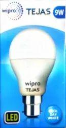 Ceramic Round WIPRO 9w TEJAS LED BULB B22 6500K