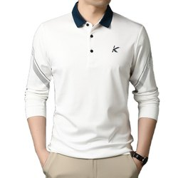 Mens Full Sleeves Collar T Shirt