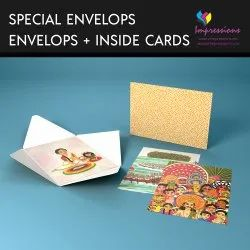 Paper Envelops With Cards