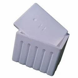 White Normal EPS Thermocol Ice Boxes
