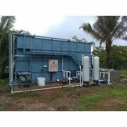 Semi Automatic Sewage Water Treatment Plant