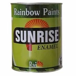 High Gloss Emulsion Rainbow Oil Paint, For Exterior, Packaging Type: Bucket