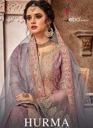 Eba Lifestyle Hurma Vol-33 Sharara Style Designer Suits Catalog