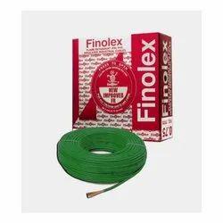 1 Sq Mm Finolex Flame Retardant PVC Insulated Green Cable
