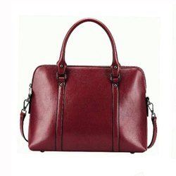 Female Crunch Leather Ladies Shoulder Bag