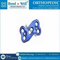 Orthopedic Implants Titanium Cervical Plate