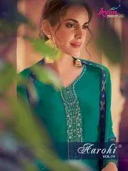 Avon Trendz Aarohi Vol-19 Plazzo Style Suits Catalog Collection
