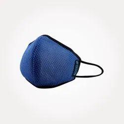 L Size Space Blue Mask