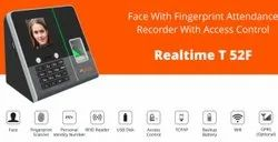 Realtime T52F Face Attendance System