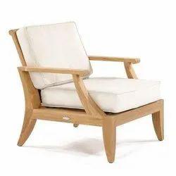 Outdoor Wooden Sofa Chair