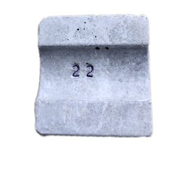 Rectangular 22 MM Concrete Cover Block, Packaging Type: BOPP Bags