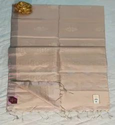 Cream Color Kanchi Pattu Sarees