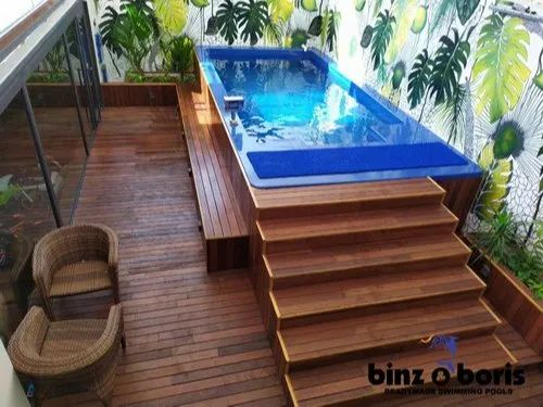 Fiberglass Indoor Residential Readymade Swimming Pool For House 4 Feet Id 21354345212