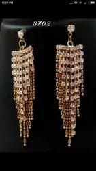 Party Golden Fancy Earrings
