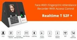 Realtime T52F  Touchless Time Attendance Machine