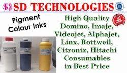 Videojet Yellow Make Up  Priniting Ink