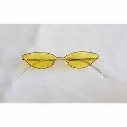 Party Unisex Oval Designer Sunglasses