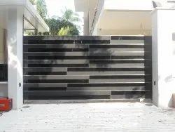 Stainless Steel Sliding Gate, For Home