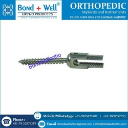 Orthopedic Implants Reduction Pedical Screw