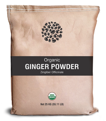 Organic Ginger Powder, 25 Kg