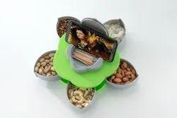Plastic Festival Dry Fruit Gift box