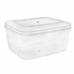 Rectangular Plastic Storage Boxes, 195x143x79 Mm