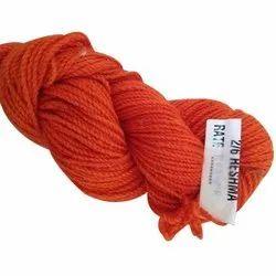 Orange Hand Knitting Polyester Yarn