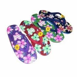 Gulshan Hawaii Printed Ladies Rubber Slipper