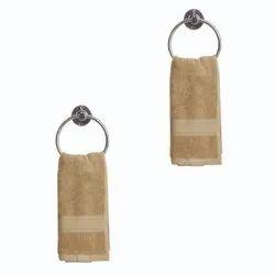 100% Combed Cotton Jockey Brown Hand Towel, Size: 40 Cm X 60 Cm