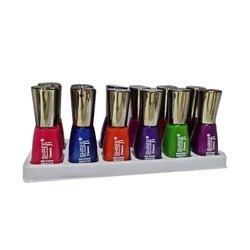 Assorted Shree Ji Colored Nail Polish, For Personal and Parlor, Liquid