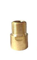 Round Brass Extension Fitting, Size: 2 Inch
