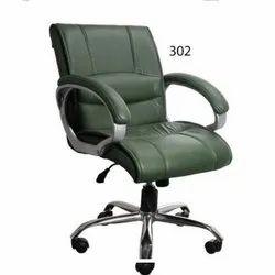 Leatherette Dark green 302 Executive Chair