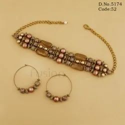 Designer Beaded Western Choker Set