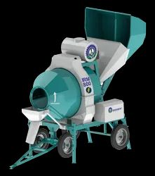 10 Hp Concrete Mixer-RM800 - Mini Batching Plant - Reversible Drum Mixer, Model Name/Number: IRM-800, Capacity: 800 Ltrs