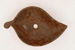 Capstona Brown Leaf Washbasin