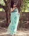 Organza Ladies Indian Wear Saree