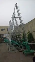 Large Wheel Ladder