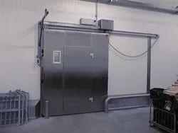 Dorma Metal Sliding Door, For Office, Exterior